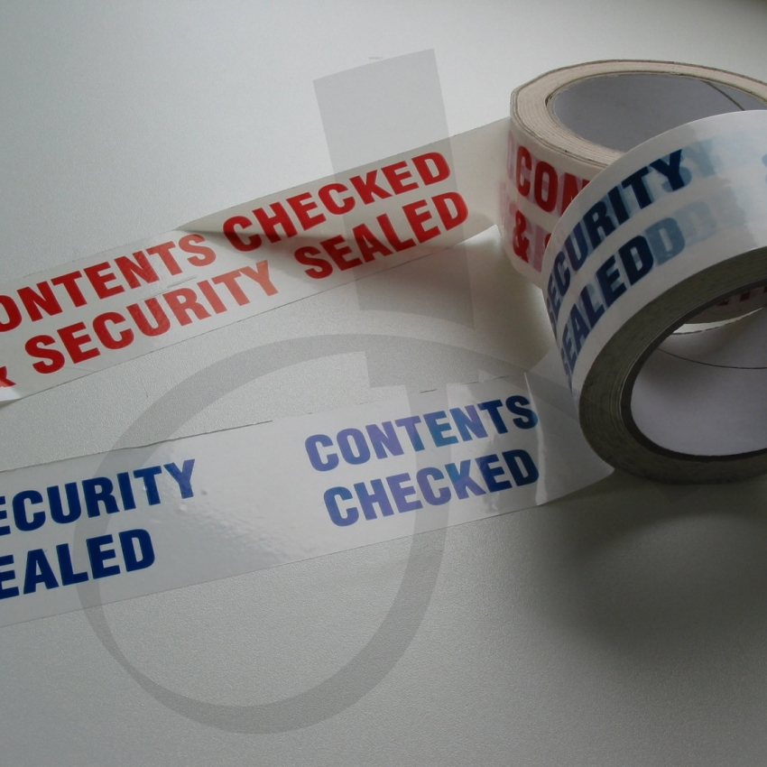 Security Tape en Labels