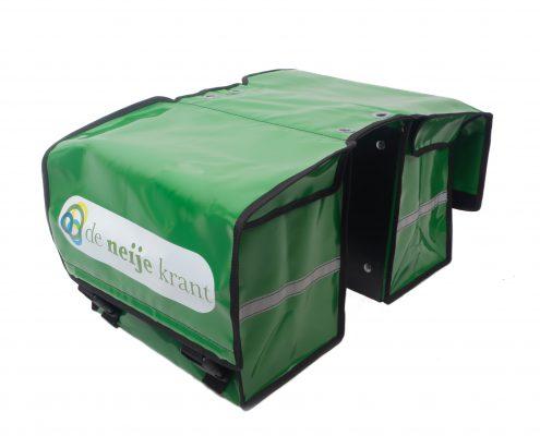 Fietsposttas (JFPTD-362334) geleverd aan De Neije Krant