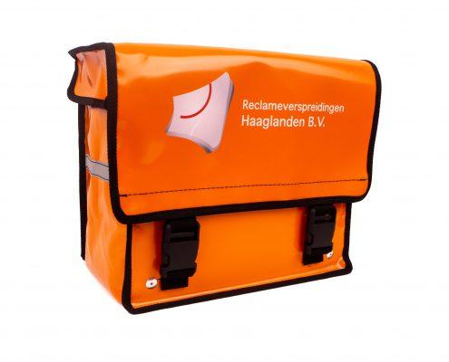 Fietsposttassen (JFPT-362334) geleverd aan Reclameverspreidingen Haaglanden