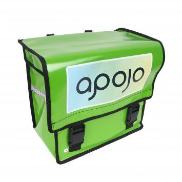 Fiets- posttassen geleverd aan Apojo