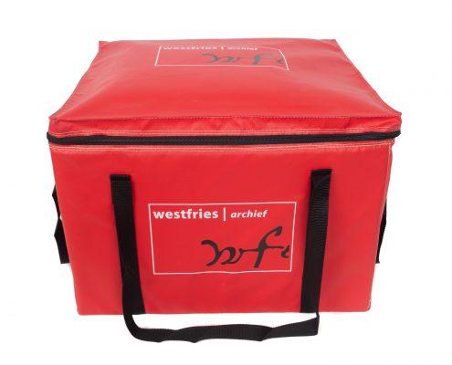 Transporttassen (JTT-443228) geleverd aan Westfries Archief