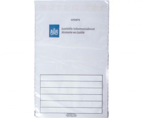 Secubags / Sealbags (JSB-300240J) geleverd aan Justitiële Informatiedienst