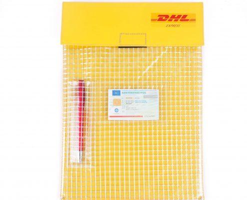 Transport enveloppen geleverd aan DHL (JPE-3040)